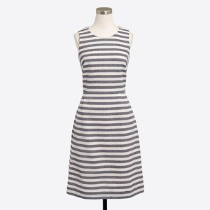 NWT J. Crew Striped Dress Size 8